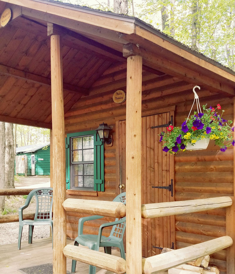 Campground Diamond: Cabins ⋆ Crystal Grove Diamond Mine And Campground