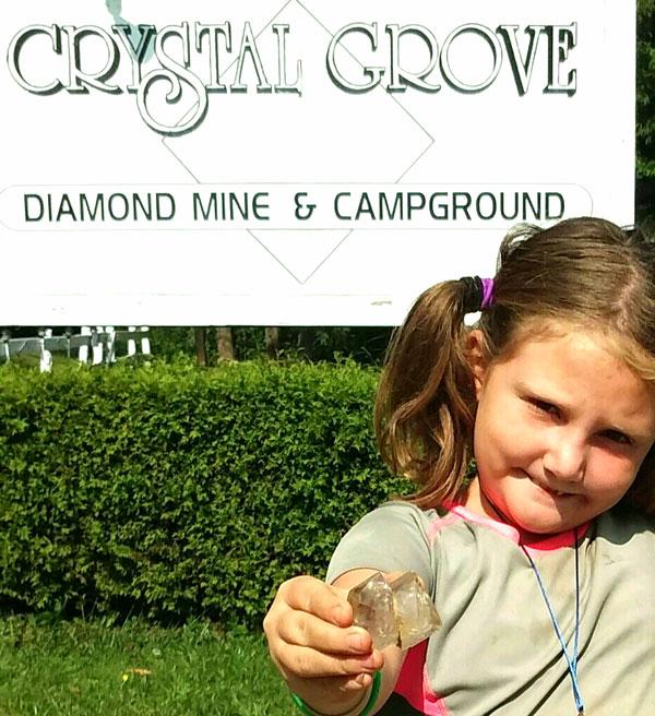 Herkimer ny crystal mining